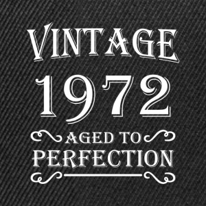 Vintage 1972 - Aged to perfection Camisetas - Gorra Snapback