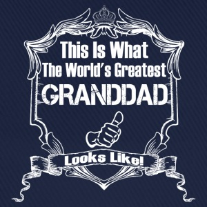 Worlds Greatest Granddad Looks Like T-Shirts - Baseball Cap