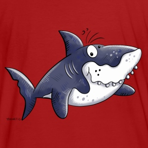 Requin comique Sweat-shirts - T-shirt bio Homme