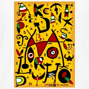 Miro alphabet by weef - Men's Premium Longsleeve Shirt