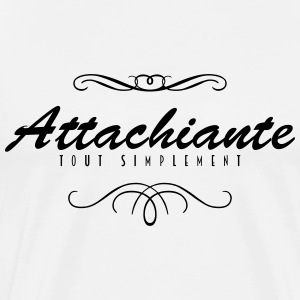 Attachiante Tabliers - T-shirt Premium Homme