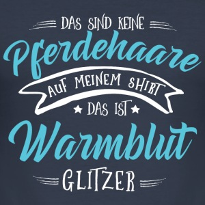 Glitzer Warmblut Pullover & Hoodies - Männer Slim Fit T-Shirt