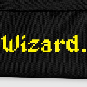 8 Bit Wizard Gamer Caps & Hats - Kids' Backpack