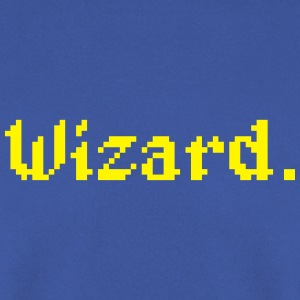 8 Bit Wizard Gamer Aprons - Men's Sweatshirt
