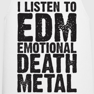 EDM EMOTIONAL DEATH METAL WOMEN T-SHIRT - Cooking Apron