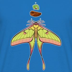 Luna Moth cycle - Men's T-Shirt