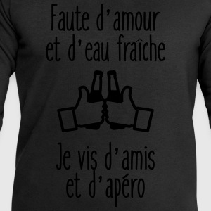 faute d'amour humour citations Tee shirts - Sweat-shirt Homme Stanley & Stella