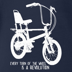 bike revolution - Organic Short-sleeved Baby Bodysuit