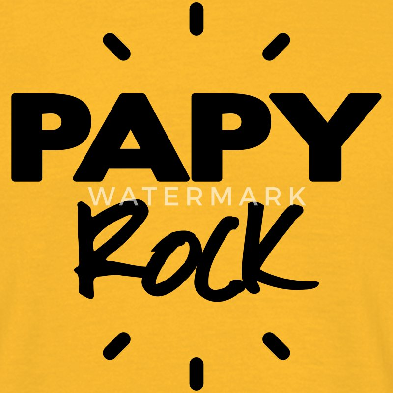 papy rock Tee shirts - T-shirt Homme