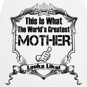 Worlds Greatest Mother Looks Like T-Shirts - Cooking Apron