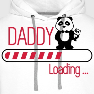 Daddy loading - Dad Father - Men's Premium Hoodie