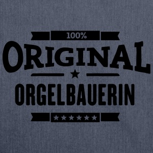 100% Orgelbauerin T-Shirts - Schultertasche aus Recycling-Material