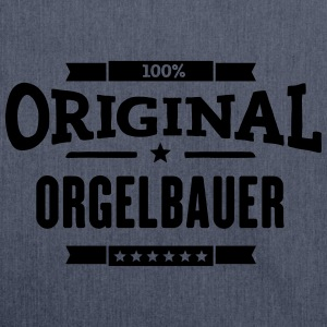 100% Orgelbauer T-Shirts - Schultertasche aus Recycling-Material