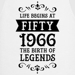 Life Begins At Fifty - 1966 The Birth Of Legends Magliette - Grembiule da cucina