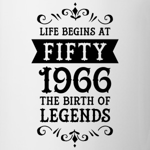 Life Begins At Fifty - 1966 The Birth Of Legends T-shirts - Mok