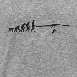 Paragliding Evolution Toppe - Herre premium T-shirt