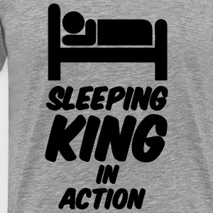 Sleeping King Long sleeve shirts - Men's Premium T-Shirt