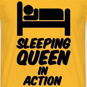 Sleeping Queen Tops - Men's T-Shirt