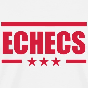 Chess / Geek / Game / Player / Schach / Echecs  Aprons - Men's Premium T-Shirt