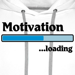 Motivation loading Koszulki - Bluza męska Premium z kapturem