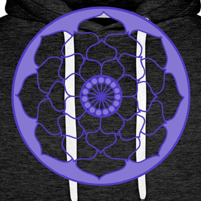 Mauve Lotus Flower Mandala