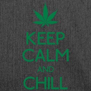 Keep Calm and chill Pullover & Hoodies - Schultertasche aus Recycling-Material