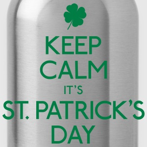 keep calm st. patricks day houden kalm st. patricks dag Sweaters - Drinkfles