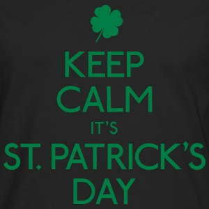 Keep Calm St. Patricks Day Pullover & Hoodies - Männer Premium Langarmshirt