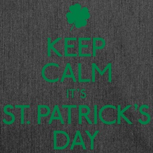 Keep Calm St. Patricks Day Pullover & Hoodies - Schultertasche aus Recycling-Material