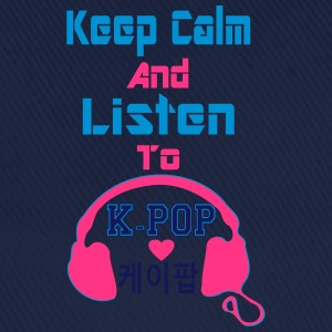 ♥♫Keep Calm&Listen to KPop Kid's Fab Hoodie♪♥ - Baseball Cap