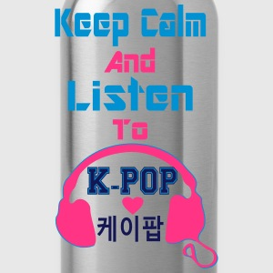 ♥♫Keep Calm&Listen to KPop Kid's Fab Hoodie♪♥ - Water Bottle