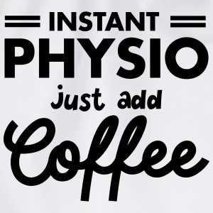 Instant Physio - Just Add Coffee T-shirts - Gymtas