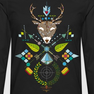 deer hunting - Men's Premium Longsleeve Shirt