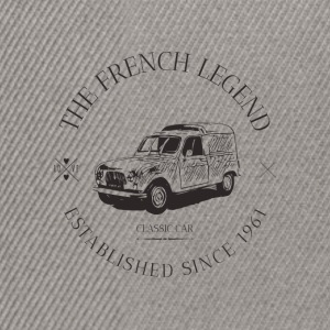 RENAULT 4L FRENCH CAR Sweat-shirts - Casquette snapback