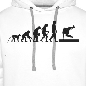 B-Boy Evolution Shirts - Mannen Premium hoodie