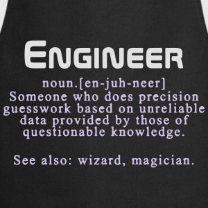 Meaning of an engineer T-Shirts - Cooking Apron