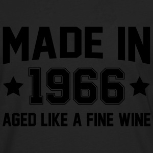 Made In 1966 Aged Like A Fine Wine T-Shirts - Men's Premium Longsleeve Shirt