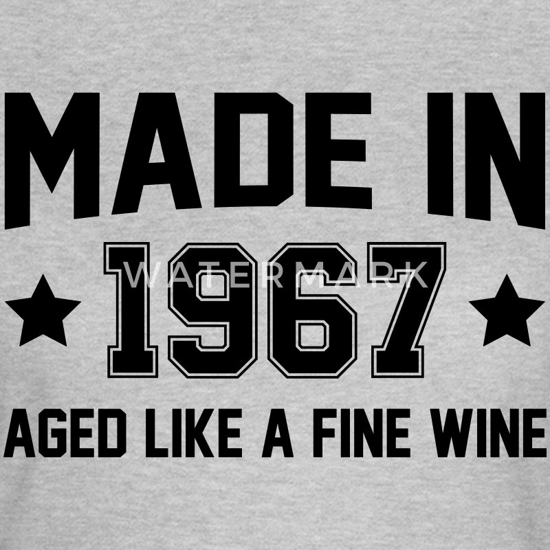 Made In 1967 Aged Like A Fine Wine T-Shirts - Women's T-Shirt
