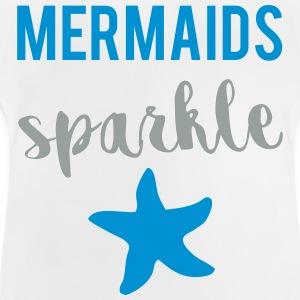 Mermaids Sparkle T-Shirts - Baby T-Shirt