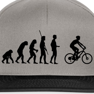 appassionati di mountain bike Evolution Magliette - Snapback Cap