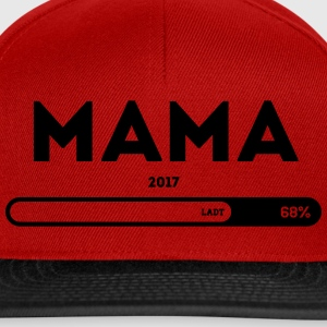 Mama 2017 please wait Ladebalken T-Shirts - Snapback Cap