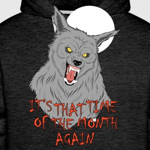That Time of the Month T-Shirts - Men's Premium Hoodie