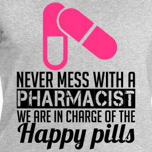 Never mess with a pharmacist Camisetas - Sudadera hombre de Stanley & Stella