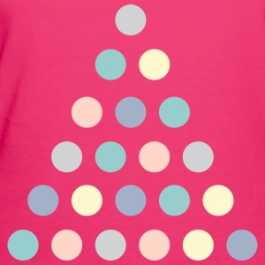 Fuchsia triangle dot Bags & Backpacks - Women's Organic T-shirt