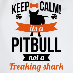It's a Pitbull, not a freaking shark Magliette - Sacca sportiva