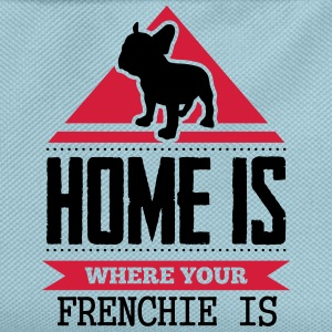 home is where your frenchi is Tee shirts - Sac à dos Enfant