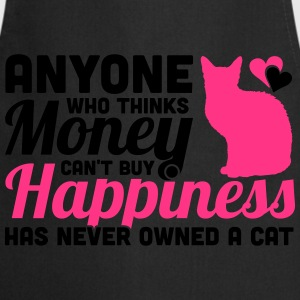 Buy Happiness - Own a cat T-shirts - Keukenschort