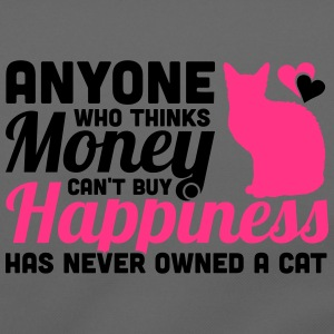Buy Happiness - Own a cat Magliette - Tracolla