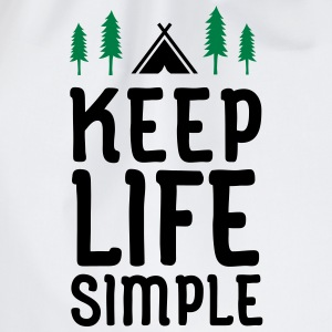 Keep Life Simple T-shirts - Sportstaske