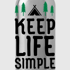 Keep Life Simple Tee shirts - Gourde
